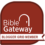 Bible Gateway Blogger Grid Member Emblem