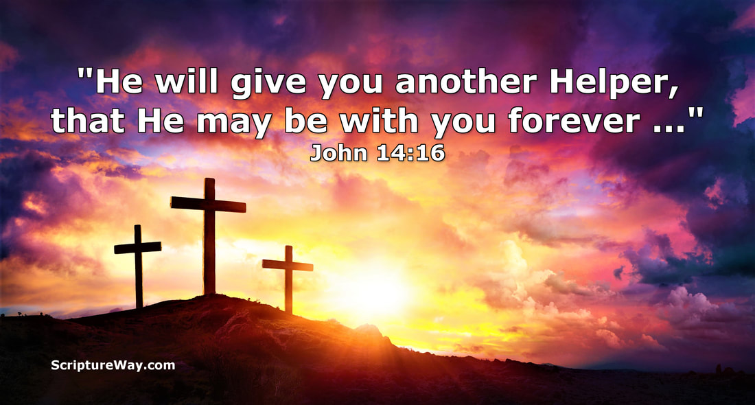 He Will Give You Another Helper - John 14:16 - 123RF Photo - Used Under License