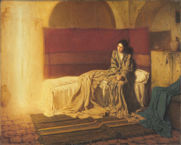 The Annunciation - Henry Ossawa Tanner - Philadelphia Museum of Art